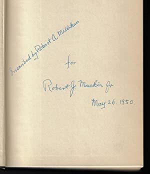 The Autobiography of Robert A. Millikan (SIGNED FIRST EDITION)