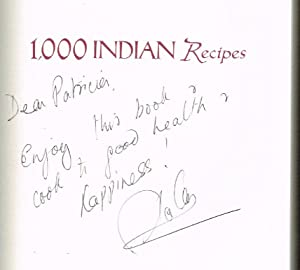 1,000 Indian Recipes (SIGNED FIRST EDITION)