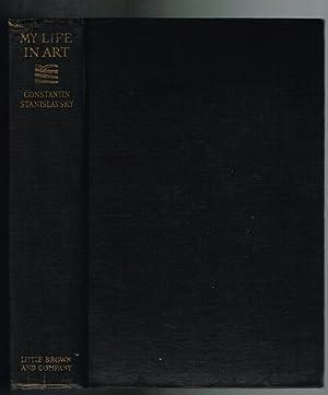My Life in Art: Stanislavsky, Constantin; Robbins, J. J. (trans)