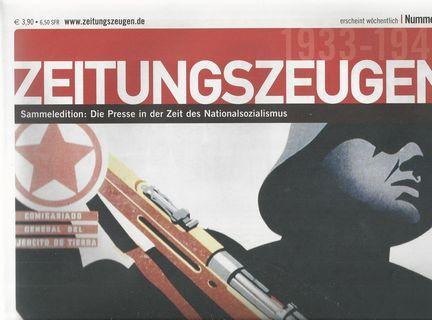 Zeitungszeugen 1-96 in 2 Sammelboxen und 1: Peter, McGee (Hrsg):