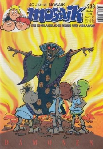 Mosaik Abrafaxe : Nummer 238, Oktober 1995. Dämonen.