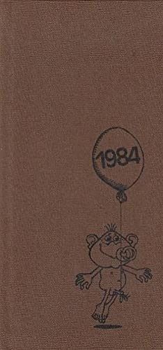Kalender Blätter 1984. Signiertes Exemplar. Ausgewählt aus: Fabian, Gerhard: