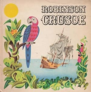 Robinson Crusoe. Pop up Bilderbuch.