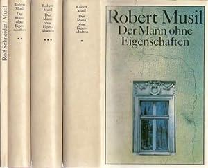 Der Mann ohne Eigenschaften. 3 Bände und: Musil, Robert: