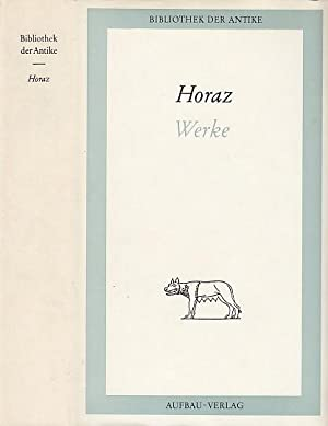 Sämtliche Werke: Oden Briefe von HorazBuchZustand gut Satiren Epoden