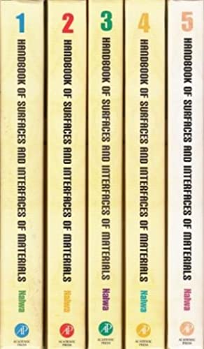 Handbook of Surfaces and Interfaces of Materials.: Nalwa, Hari Singh: