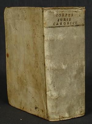 emendatum et notis illustratum. Gregorii XIII. Pontif.: CORPUS JURIS CANONICI