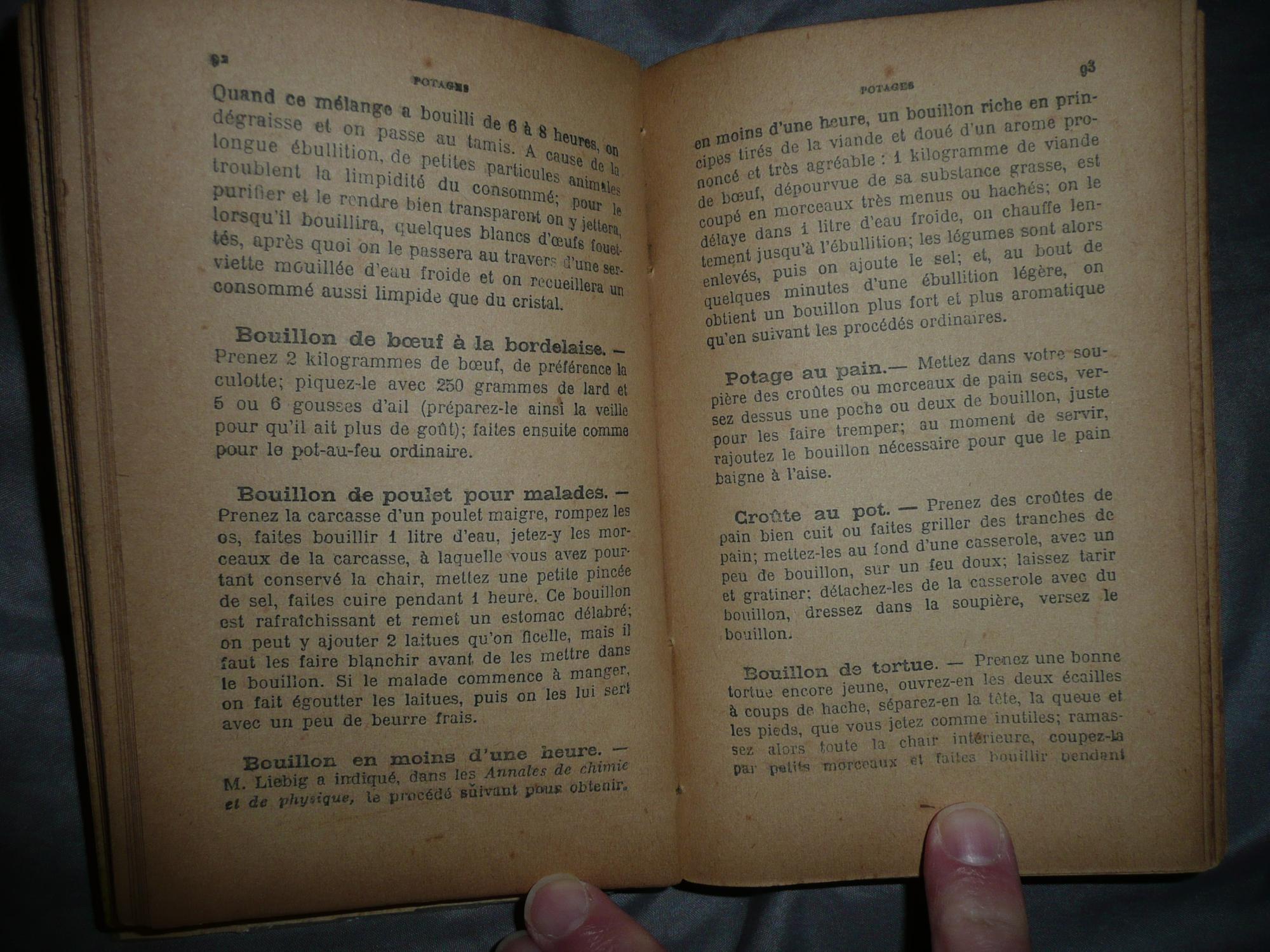 La Cuisine De Jeanneton 1904