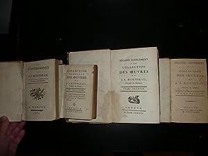 Les Confessions , 1782 et 1789, Edition: Jean Jacques Rousseau