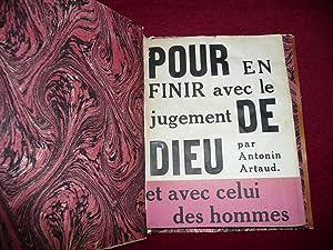 Pour en finir avec le jugement de: Artaud Antonin