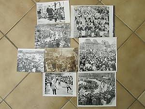 43 grandes photos originales en noir et blanc sur le carnaval de Charleville 1963-1966
