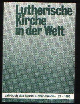 Lutherische Kirche in Der Welt Jahrbuch des