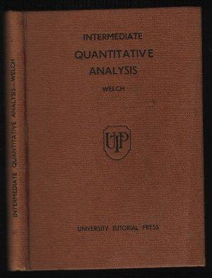 Intermediate Quantitative Analysis: A. J. E.