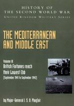 MEDITERRANEAN AND MIDDLE EAST VOLUME III (September: Sir James Butler