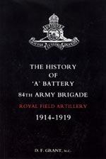 HISTORY OF ÒAÓ BATTERY 84TH ARMY BRIGADE: D. F. Grant