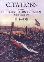 CITATIONS OF THE DISTINGUISHED CONDUCT MEDAL 1914-1920: R.W. Walker &