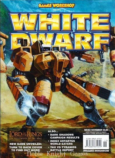 "#263 ""Index Astartes - World Eaters, History of the Empire Steam Tank"" (White Dwarf ..."