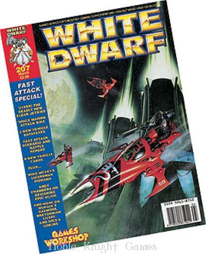 "207 ""8 New Vehicle Cards, Designing Epic 40k, Great Unclean One"" (White Dwarf Magazine #201 - #250)"