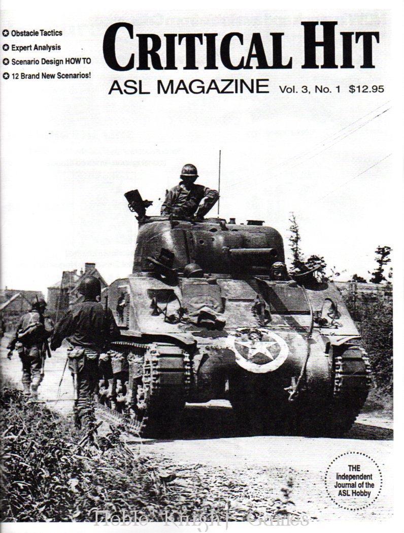 ASL Critical Hit Magazine #1