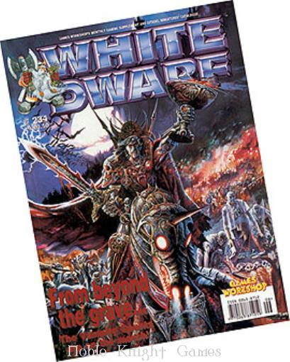 "234 ""Vampire Counts, Knights of Blood, Mercenary Generals"" (White Dwarf Magazine #201 - #250)"