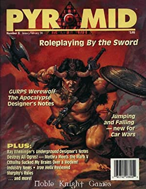 """5 """"Roleplaying By the Sword"""" (Pyramid Magazine)"""