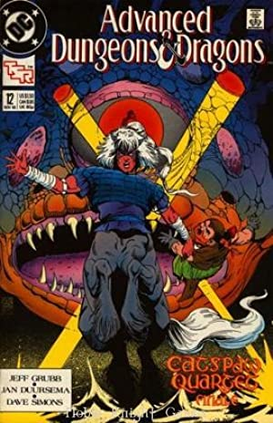 "12 ""Catspaw #4"" (Advanced Dungeons & Dragons: Jeff Grubb, Jan"