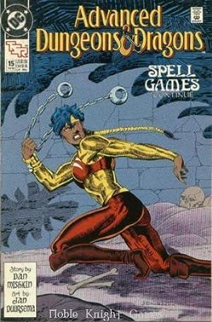 "15 ""Spell Games #3"" (Advanced Dungeons &: Dan Mishkin, Jan"
