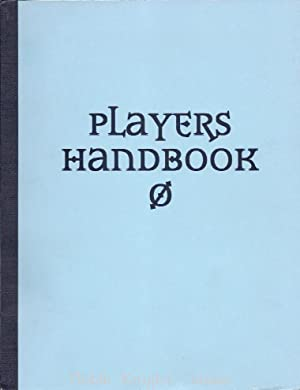 Player's Handbook 3.0 Advanced Copy (Dungeons & Dragons (3rd Edition) (d20) - Player'...