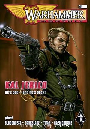 """6 """"Kal Jerico, Bloodquest, Darkblade"""" (Warhammer Monthly)"""