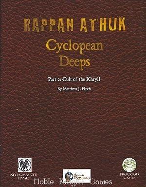 Cyclopean Deeps #2 - Eye of the Titan w/PDF Swords & Wizardry (Rappan Athuk (Swords & ...