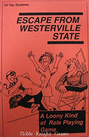 Escape From Westerville State Prison 2nd Printing (Board Games (Tri Tac))