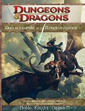 Guia de Campana de los Reinos Olvidados Forgotten Realms Campaign Guide Spanish (Forgotten Realms (...