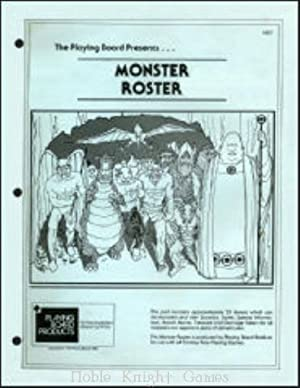 Monster Roster (Fantasy Supplements (Playing Board Products))