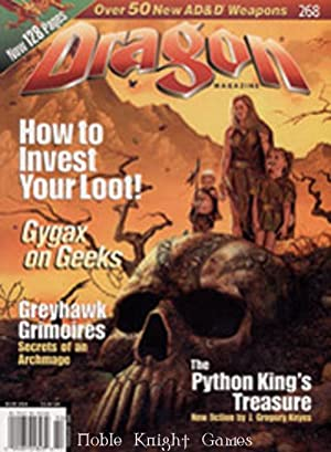 "268 ""How to Invest Your Loot!, Greyhawk Grimoires"" (Dragon Magazine #251 - #300)"