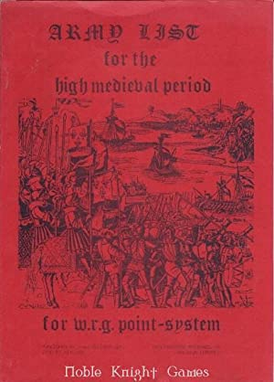 Army List of the High Medieval Period (Army List for the High Medieval Period)