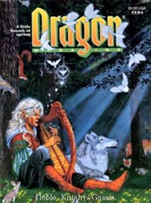 "191 ""The Elven Pantheon, Open Your Mind"" (Dragon Magazine #151 - #200)"