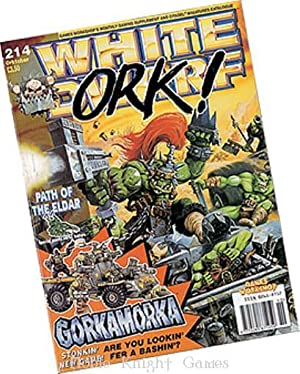 """214 """"Fate Cards for Epic 40k, Attack of the Tyranids, Gorkamorka Special Report"""" (White ..."""