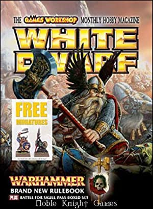 """320 """"New Warhammer Rulebook, Cities of Death - Ork Town, 2 Free Miniatures"""" (White Dwarf ..."""