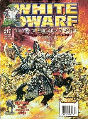 "217 ""Necron Raiders, Realm of Chaos, Digganob"" (White Dwarf Magazine #201 - #250)"