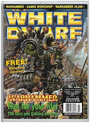 """250 """"Warhammer Playsheet, Orcs of the Iron Claw Tribe, Dogs of War, Empire Army"""" (White ..."""