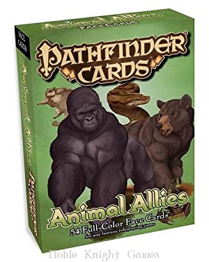 Face Cards - Animal Allies (Pathfinder Cards - Assorted)