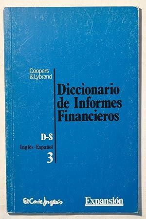 Diccionario de Informes Financieros: Coopers & Lybrand