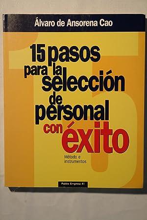 15 pasos para la selección de personal: Álvaro de Ansorena
