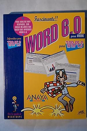 Word 6,0 para Windows para Torpes: VV.AA.
