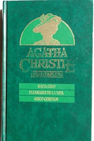 Hacia cero / Pleamares de la vida: Agatha Christie