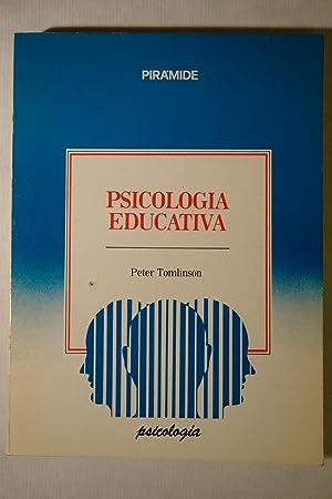 Psicología Educativa: Peter Tomlinson