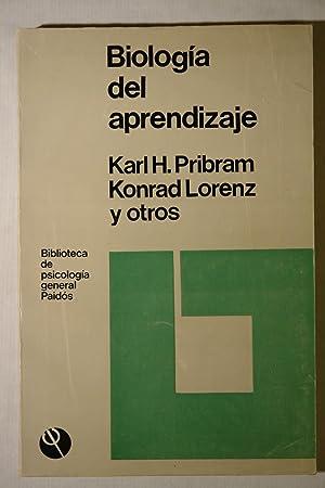 Biología del aprendizaje: Karl H. Pribram, Konrad Lorenz y otros