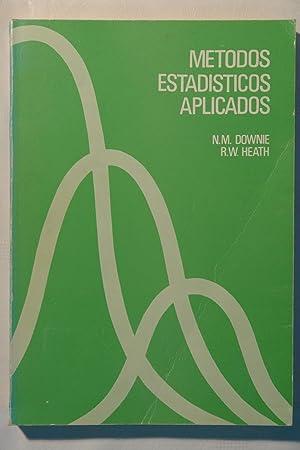 Métodos estadísticos aplicados: N.M. Downie y R.W. Heath