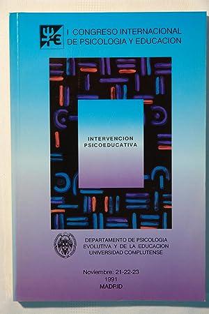 I Congreso Internacional de Psicología y Educación: Varios