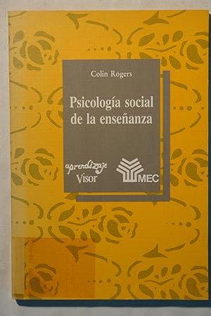 Psicologia Social de la Enseñanza: Rogers, Colin
